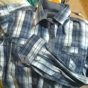 Brand New worn once XL men's 7 diamond dress shirt